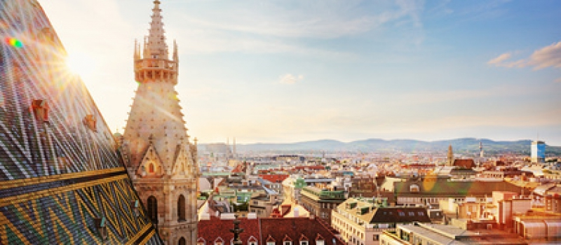 Vienna, St. Stephens Cathedral, view from north tower